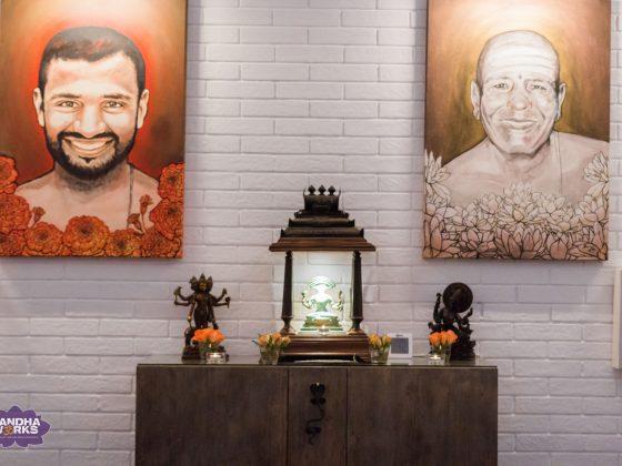 Ashtanga Mysore room with Harmony